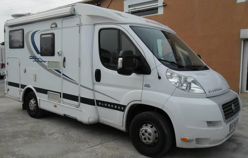 vend petit camping car d 39 occasion dethleffs globebus t1 achat de camping car neuf et occasion