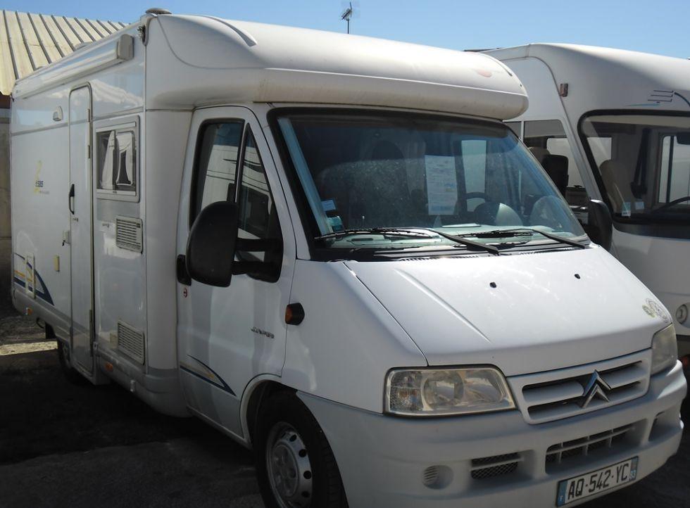 vente petit camping car profil u00e9 burstner t585 ambiance